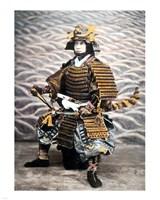 Samurai 1880 Framed Print