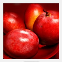 Red Mangoes Fine Art Print