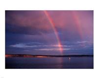 Double Rainbow Fine Art Print