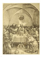 Last Supper Durer Fine Art Print