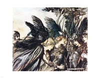 Rhinegold and the Valkyries Fine Art Print