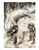 Siegfried and the Twilight of the Gods Fine Art Print