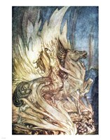 Siegfried and the Twilight of the Gods Fine Art Print