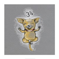 Enlightened Chihuahua Fine Art Print