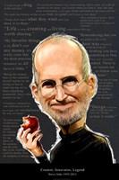 Steve Jobs - Creator, Innovator, Legend Fine Art Print