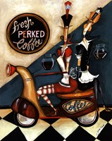 Fresh Perked Coffee Fine Art Print