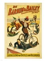 Barnum & Bailey Fine Art Print