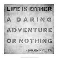 Life Quote Fine Art Print