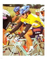 Yvan Gotti  Tour de France 1995 Fine Art Print