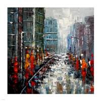 City Landscape Fine Art Print