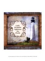 Florida Lighthouse III Fine Art Print
