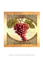 Wine Grapes I Fine Art Print