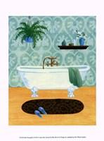 Bath Tranquility I Framed Print