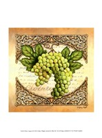 Wine Grapes II Framed Print