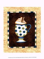 Mocha Lattee II Framed Print