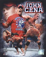 John Cena 2011 Portrait Plus Framed Print