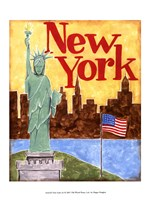 New York (A) Fine Art Print