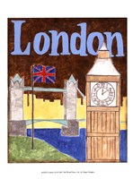 London (A) Fine Art Print