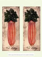 Fresco Veggies I Framed Print