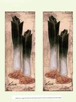 Fresco Veggies III Framed Print