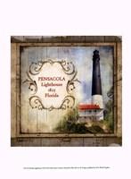 Florida Lighthouse VII Framed Print