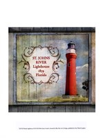 Florida Lighthouse XI Fine Art Print