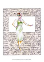 50's Fashion XII Fine Art Print
