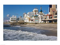 Boardwalk Casinos, Atlantic City, New Jersey, USA Framed Print