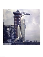 Space Shuttle Fine Art Print