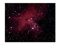 Gaseous Nebula in Serpens Framed Print
