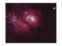Lagoon Nebula in Sagittarius Framed Print