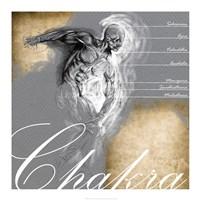Seven Chakra Points Fine Art Print