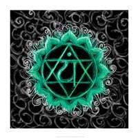 Anahata - Heart Chakra, Flawless Framed Print
