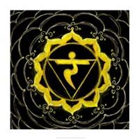 Manipura - Solar Plexus Chakra, Sparkling Jewel Fine Art Print