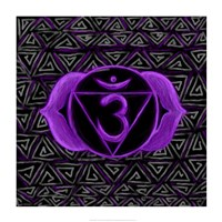 Ajna - Third Eye Chakra, Awareness Fine Art Print