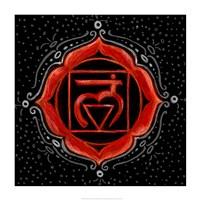 Muladhara - Root Chakra, Support Framed Print
