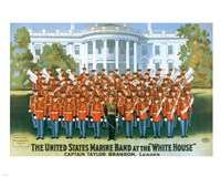 Marine Band at the White house Fine Art Print
