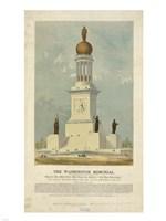 Original concept for the Washington Monument Fine Art Print