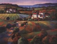 Tuscan Vista I Fine Art Print