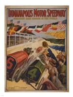 Indianapolis Motor Speedway Fine Art Print