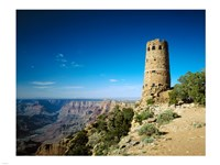 Arizon'a Grand Canyon Watch Tower Fine Art Print