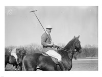 Polo black and white Framed Print