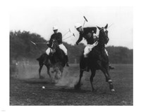 This was the first match of the War Dept. Polo Association Tournament Fine Art Print