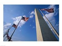 Low angle view of the Washington Monument, Washington, D.C., USA Fine Art Print