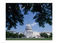 Capitol Building, Washington, D.C. Photo Framed Print