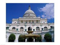 Capitol Building, Washington, D.C., USA Fine Art Print