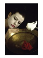 Mime and Dove Fine Art Print