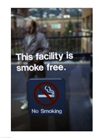 No Smoking - smoke free Fine Art Print