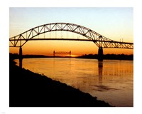 The Bourne Bridge over the Cape Cod Canal Framed Print