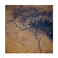Grand Canyon from space Fine Art Print